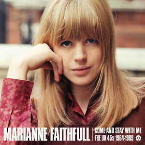 """Marianne Faithfull """"Come And Stay With Me - The UK 45s 1964-1969"""" (CD)"""