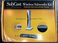 Soundcast SubCast wireless subwoofer kit brand new