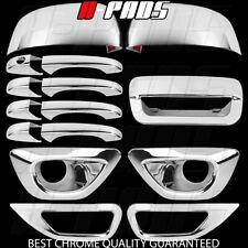 14-15 Jeep Grand Cherokee Chrome Covers Mirror Door handle Tailgate Fog Lamps