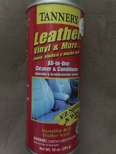 Tannery 40173 Leather, Vinyl & More Cleaner & Conditioner, 10 Wt Oz