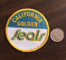 Vintage California Golden Seal NHL Logo Crest Patch Sew On/Glue On 3 Inch Round