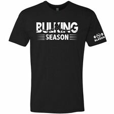 Bulking Season T-Shirt Gym Fitness Workout Bodybuilding Athletic Graphic Tee Top