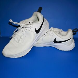 Nike Zoom HyperAce 2 Volleyball Shoes Athletic White Black Women's Sz 9 EUC KH