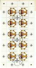 ALLEMAGNE YVERT n° 1925 en feuille complète oblitérée