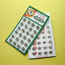 24 Japan Small Mini Tiny Metal Snap Fastener Press Stud Doll Sew Buttons 6mm M63
