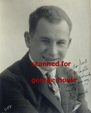 Glen Cavender - Vtg - Inscribed - Keystone Kop - Buster Keaton - The General