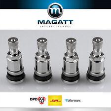 300 x Silber Metallventile Stahlventile Universal Felgenventile 11,3 mm NEU