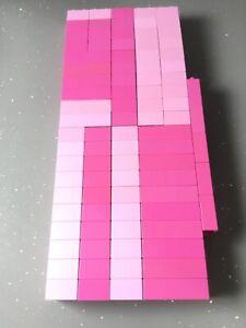 Lego Duplo Pink Bricks x 89