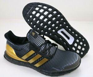 Adidas UltraBOOST DNA X Patrick Mahomes Black Gold White H02868 Men's Size 12