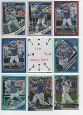 Kansas City Royals * SERIAL #'d Rookies Autos Jerseys * ALL CARDS ARE GOOD CARDS