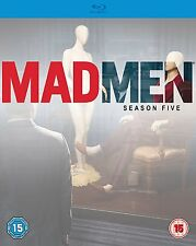 Mad Men Season 5 [Blu-ray] series five fifth Madmen 5th 5 Jon Hamm 3 disc set