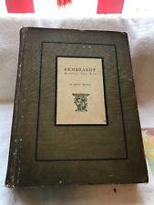 Rembrandt Harmensz Van Rijn/edited By Emile Michel
