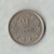 More details for romania 1900 5 bani in near mint condition