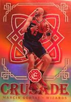 MARCIN GORTAT RED REFRACTOR 2016-17 Panini Excalibur Crusade Red /99 SP CLIPPERS