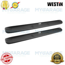 """Westin For Molded Running Boards 6"""" Wide Black  Chevrolet,Ford,GMC - 27-0020"""
