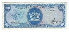 Trinidad and Tobago - One Hundred (100) Dollars, 1964/77