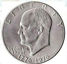 "1976 D Eisenhower ""Ike"" Bicentennial Dollar Type 2 Uncirculated & Free Shipping"