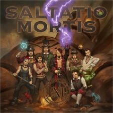SALTATIO MORTIS - DAS SCHWARZE EINMALEINS (LIMITED MEDIABOOK ED.) CD + DVD NEU