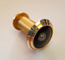 New 290 Degree Peep hole Wide Angle in Gold