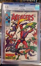 Avengers 55 CGC 8.5 White Pages!  1st Ultron!