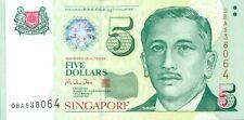 Singapore P39 BCCS 5 dollars (1999) UNC
