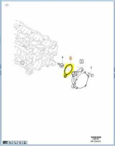 Vacuum Pump Seal Genuine S80 XC60 V70 V60 S60 B4204T6 / B4204T7 31375695