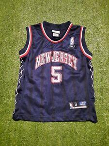 NBA Jason Kidd New Jersey Nets Kids Jersey Size Small (8) Reebok