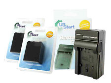 2x Sony NP-FV100 FV50 Battery+Charger DCR-HC94E HC85E DVD92E DVD850E DVD910 HC48