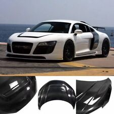 Carbon Fiber Front Hood Lid Bonnet Cover Body Kits 12K Fit for Audi R8 2007-2015