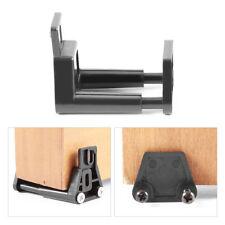 Barn Door Floor Guide - Black Adjustable Stay Roller For Bottom of Sliding Door