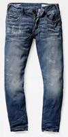 G-Star Raw Holmer Tapered Jeans | Medium Aged Restored Size UK W34 L34 *REF50-5