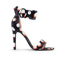Sandali donna tacco alto 10 cm elegante e colorato femminilità su tacchi alti
