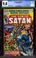 Marvel Spotlight #22...CGC 9.8 NM/M...Son of Satan, Satana, Ghost Rider