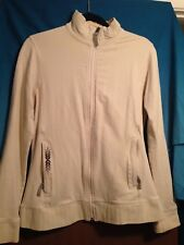 AWESOME Mission Playground Woman's Ivory Colored Jacket with embroidery