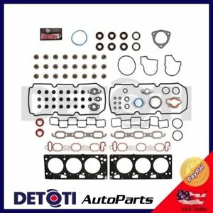 Head Gasket Set Repair For 1999-2006 Chrysler 300 Dodge Plymouth 3.5L V6 OHV MLS