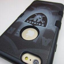 "Oakland Raiders #BG Impact Hard+Rubber Hybrid Case for iPhone 6/6S Plus (5.5"")"