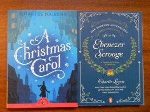 Further Adventures of Ebenezer Scrooge + Christmas Carol Charles Dickens 2 books