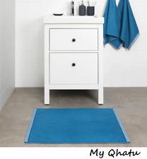 """Ikea Vikfjard Bath Matt, Blue Bathroom 20"""" x 32"""" NEW"""