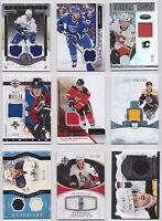 NHL Jersey Card You Choose From List Smyth Hamilton Kovalev Backlund Sedin