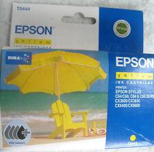 Epson T0444 amarillo cartucho de tinta de alta capacidad Genuino Nuevo C64, CX3600, CX3650.Etc.