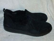 Women's Genuine Leather Shoes by Skechers Wide Fit Memory Foam - Sz 9 W