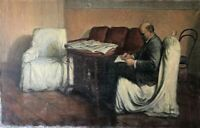 """Painting by I. Brodsky """"Lenin in Smolny"""" - a copy of the painting from the USSR"""