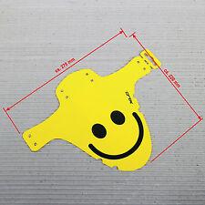 XLC Mini Mudguard MG-C18 Schutzblech vorne Montage Gabel - gelb Smiley -