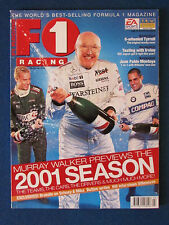 F1 Racing Magazine - March 2001- Murray Walker Cover - Formula One