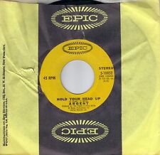 ARGENT  Hold Your Head Up / Closer To Heaven  original 45  THE ZOMBIES