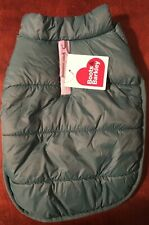 Boots & Barkley Puffer Vest Pet Apparel Green Size Small - New Without Packaging