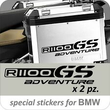 2 Adesivi Stickers BMW R 1100 gs valigie adventure R GS
