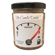 Gasoline Fuel Scented Car Engine Candle 6oz 40 Hour The Candle Daddy NEW