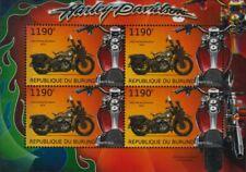 1942 HARLEY DAVIDSON WLA militaire Moto WWII US Army Moto STAMP SHEET