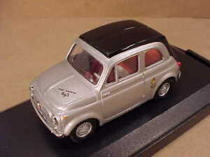 Vitesse #042C 1/43 Diecast 1964 Fiat Abarth 695 Ss Coupé, Plata con Negro Techo